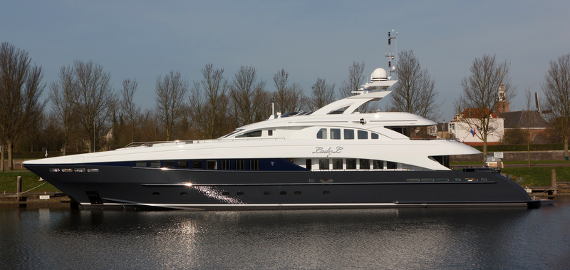 44m motor yacht Lady L by Heesen Yachts