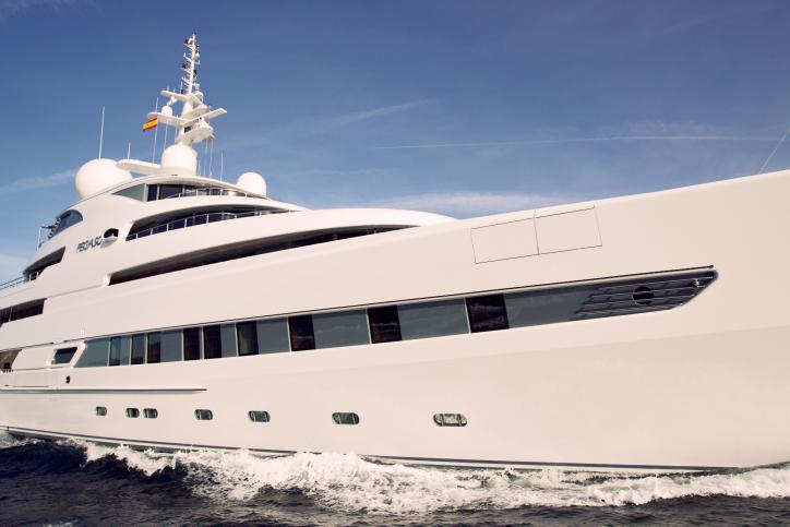 74m luxury yacht Pegaso