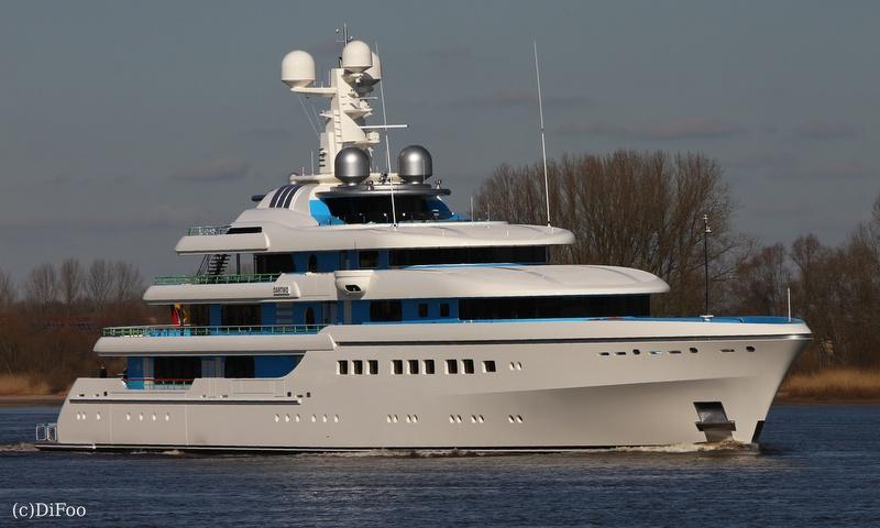 81m Abeking & Rasmussen superyacht DARTWO - Photo credit to DiFoo