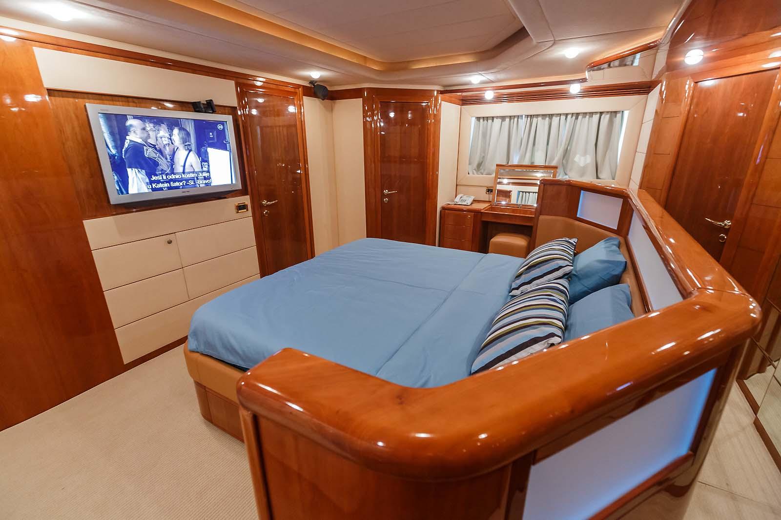ADRIATIC JAZZ - Master cabin