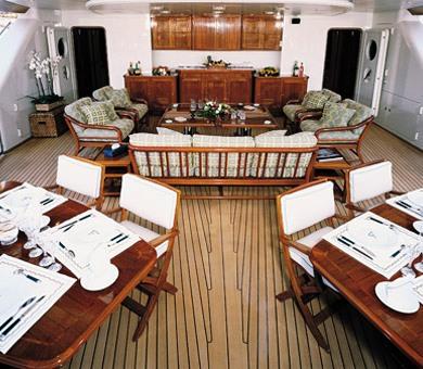 ATMOSPHERE Aft deck