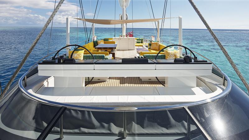 AY46 super yacht MONDANGO 3 - Flybridge Image by Chris Lewis
