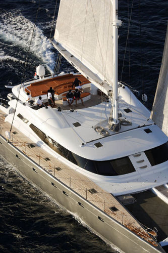 Allures - Flybridge From Above
