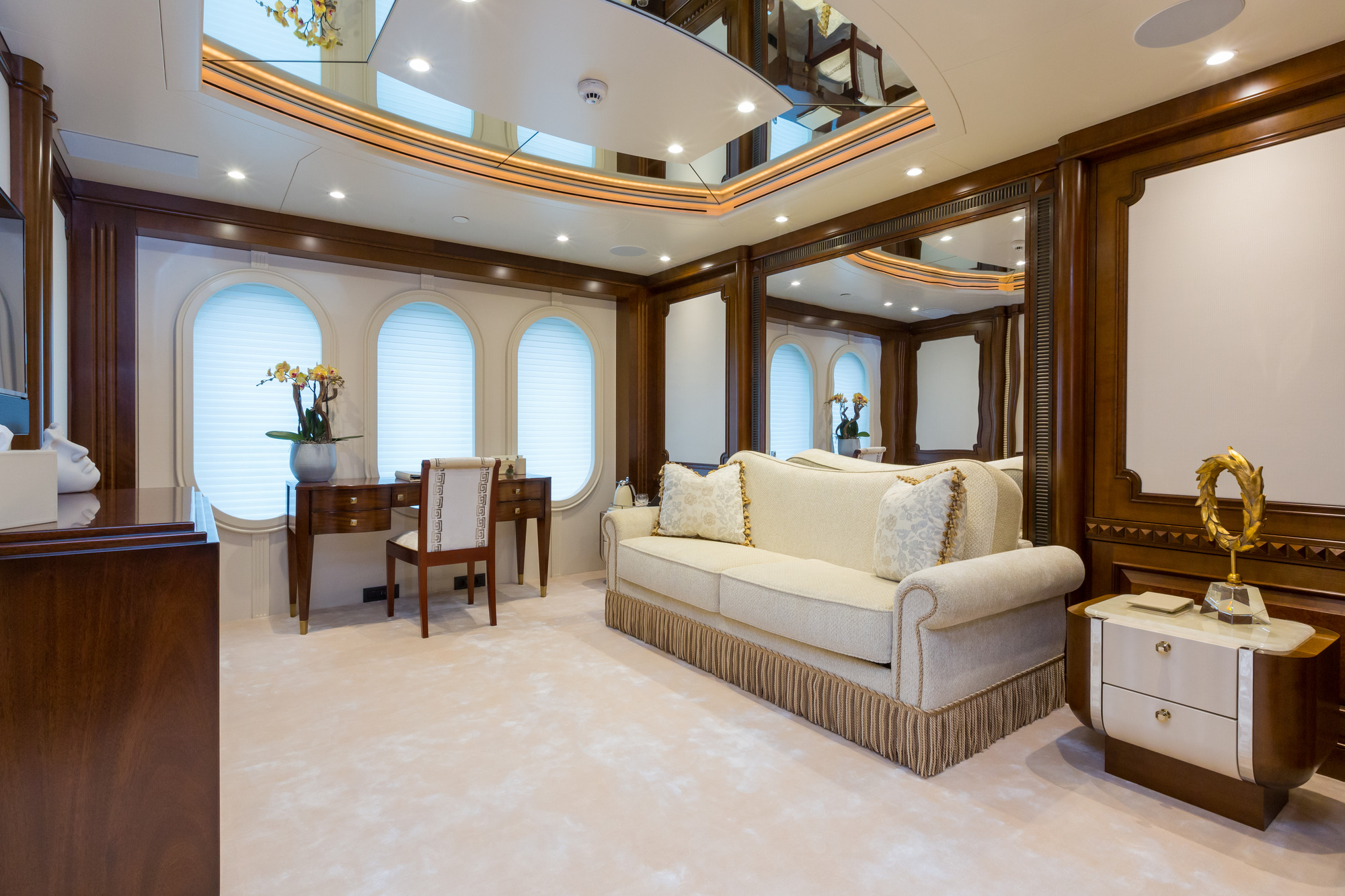 Amels yacht CALYPSO - Convertible cabin