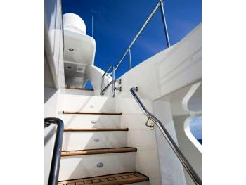 Aquarius -  Exterior Stairs