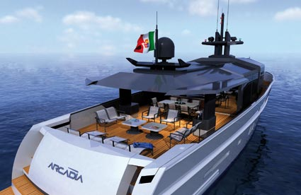 Arcadia Yachts SOLAR - Solar Concept
