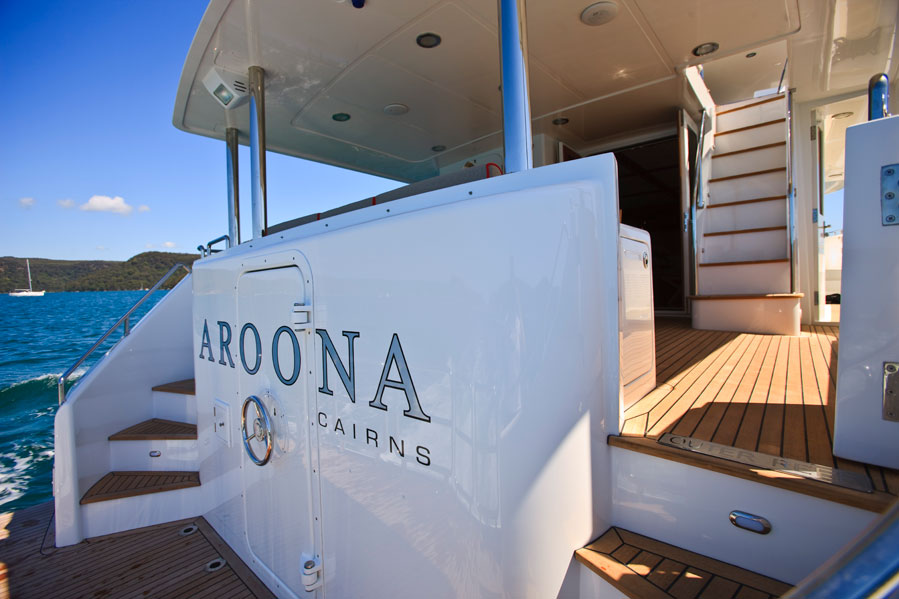 Aroona Yacht a Outer Reff 70 Superyacht