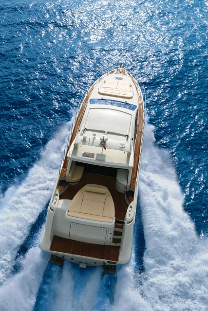 Azimut 62S -  From Above