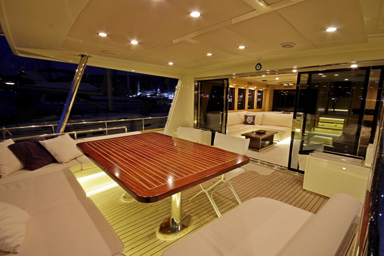 BANDIDO Aft deck