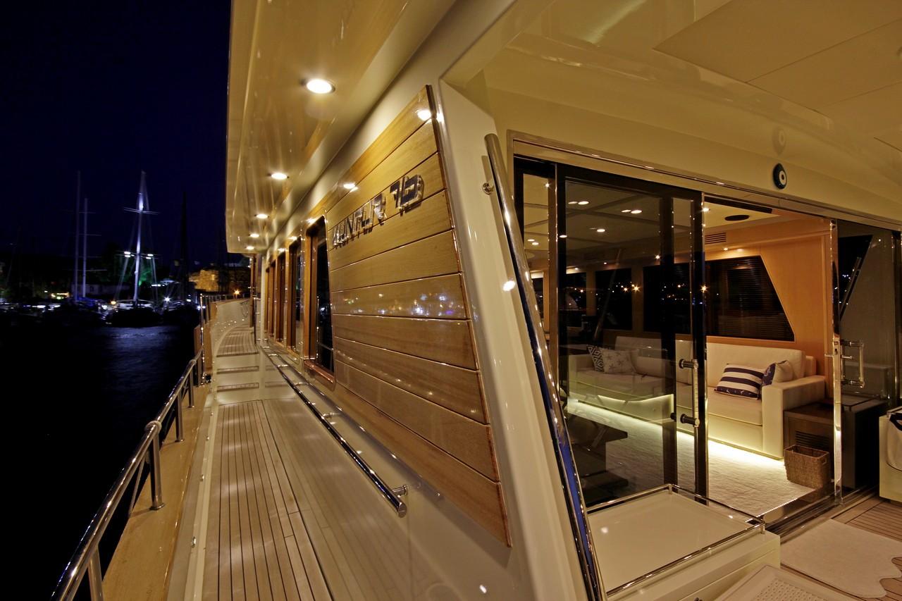 BANDIDO Port side deck