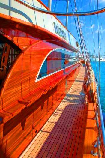 BARON II side deck