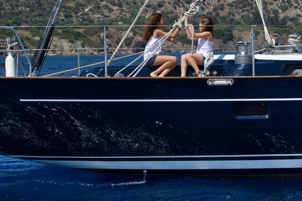 BLUE PHOENIX - On deck