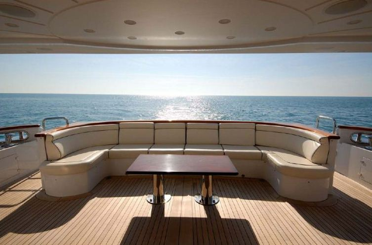 Benetti 122 Motor yacht -  Aft Deck