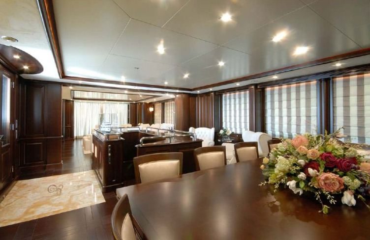 Benetti 122 Motor yacht -  Formal Dining