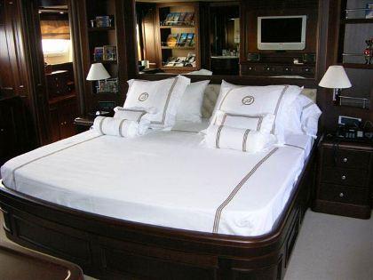 Benetti Yacht BACCHANAL -  Master Cabin