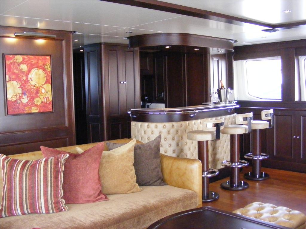 Benetti Yacht BACCHANAL -  Skylounge Bar 2