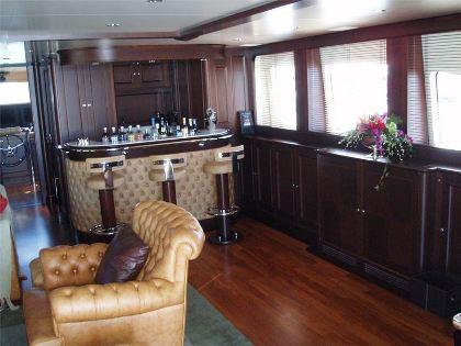 Benetti Yacht BACCHANAL -  Skylounge Bar