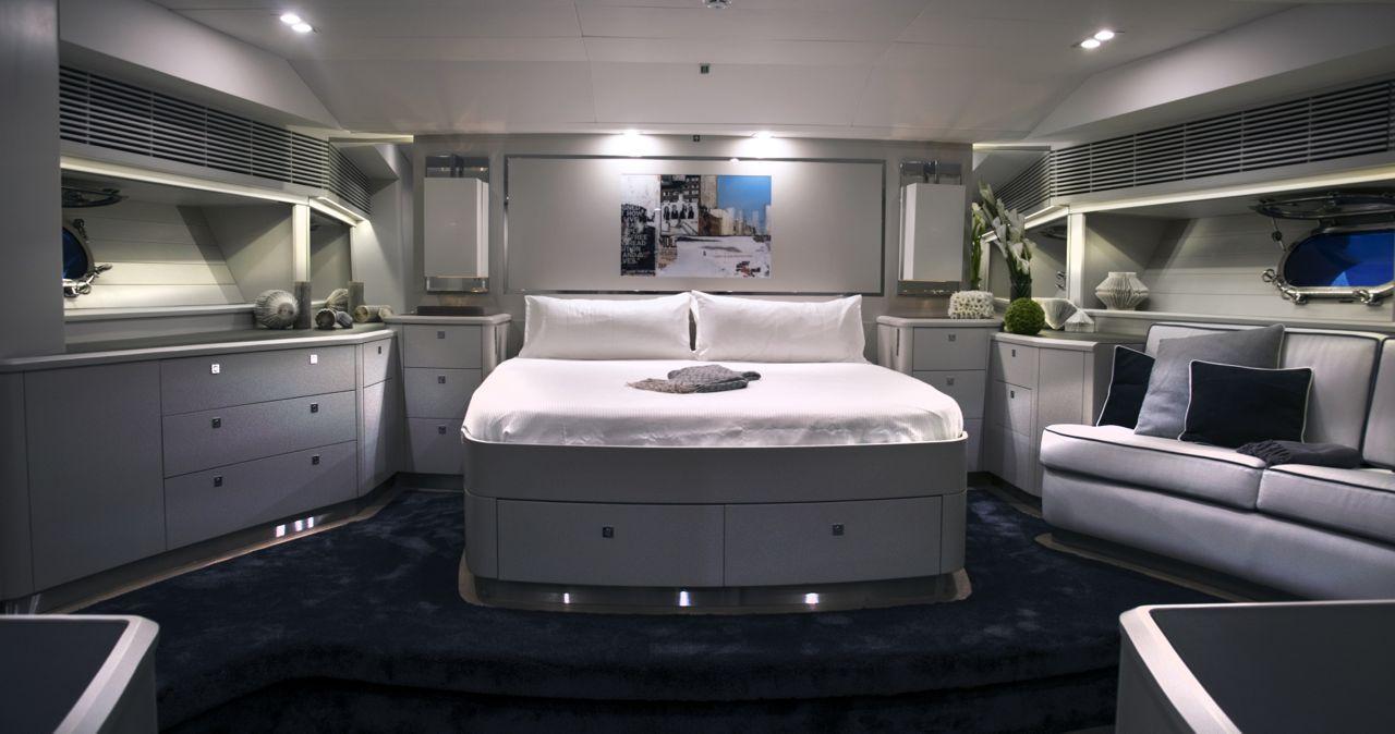 CAROLINE 1 - master cabin