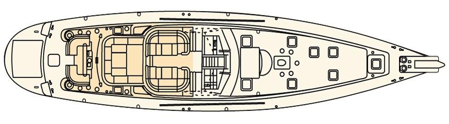 CELANDINE -  Main Deck Layout