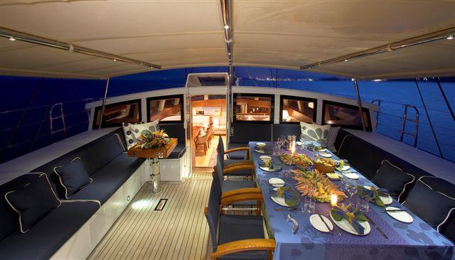 CINDERELLA IV -  Cockpit Dining Night