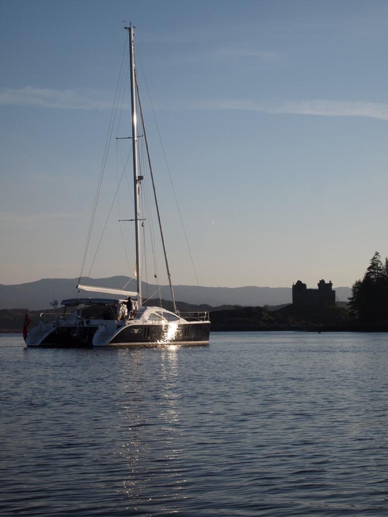 CURANTA CRIDHE - At anchor