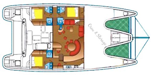 Captiva - Layout