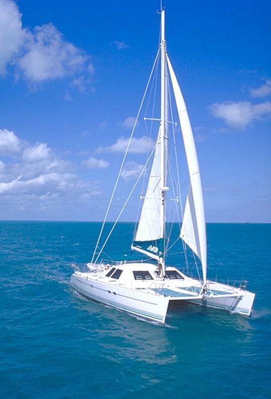 Cat AD ASTRA -  Sailing