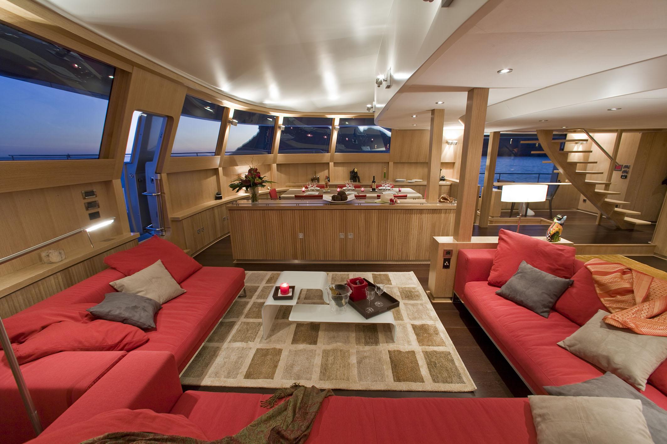 Catamaran BRADLEY -  Main deck Salon 2