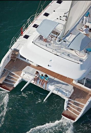 Catamaran ENIGMA -  From Above