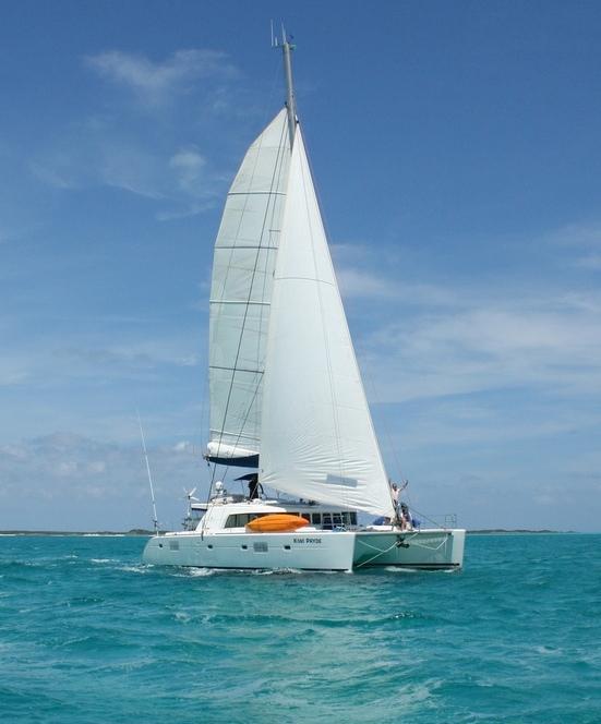 Catamaran KIWI PRYDE -  Sailing
