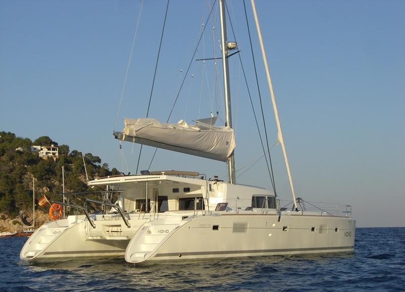 Catamaran NANA -  Aft View