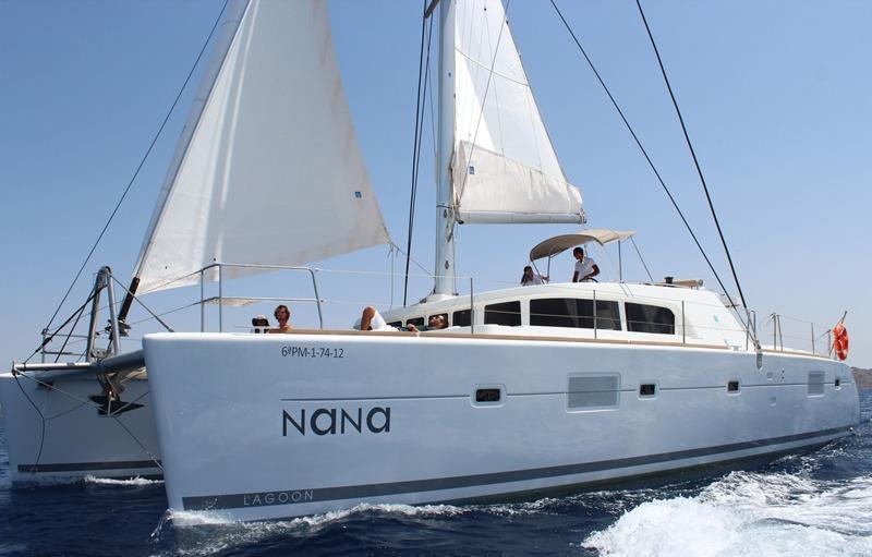 Catamaran NANA -  Main