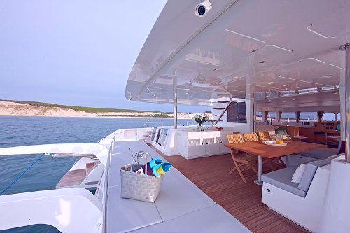 Catamaran NOVA -  Aft Deck