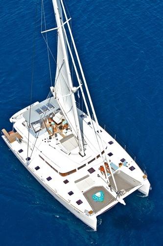 Catamaran NOVA -  From Above