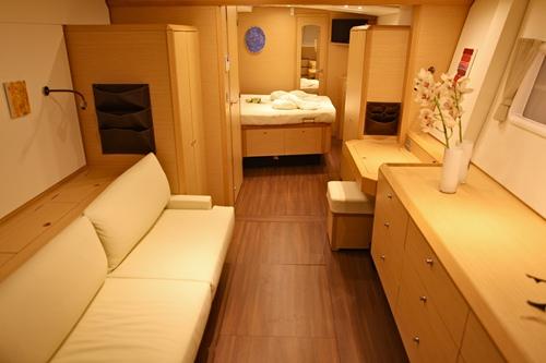 Catamaran NOVA -  Master Cabin 2