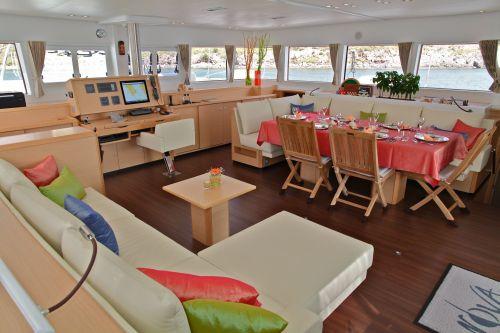Catamaran NOVA -  Salon 2