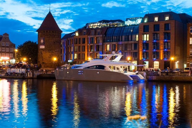 Catamaran SKYLARK -  At The Quay