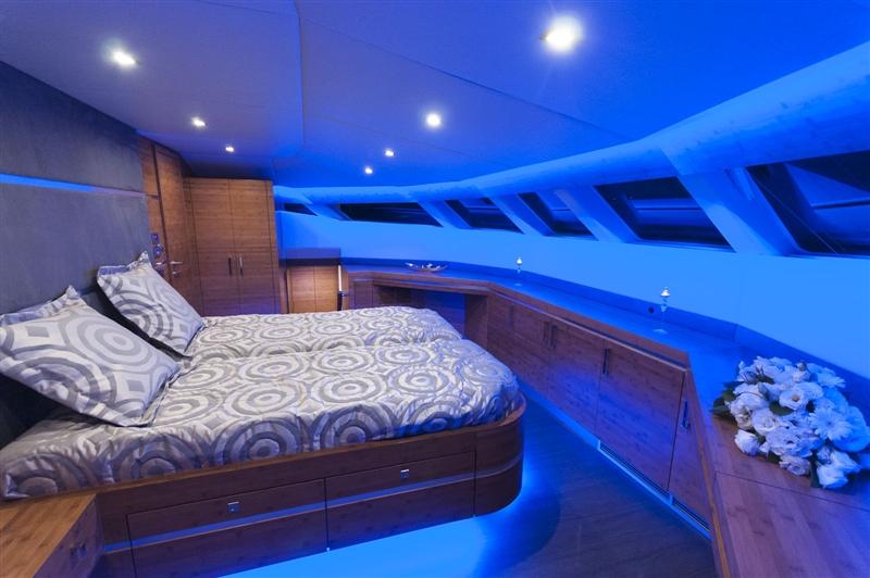 Catamaran SKYLARK -  Master Cabin View 2
