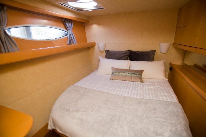 Catamaran yacht WHY NOT - queen cabin