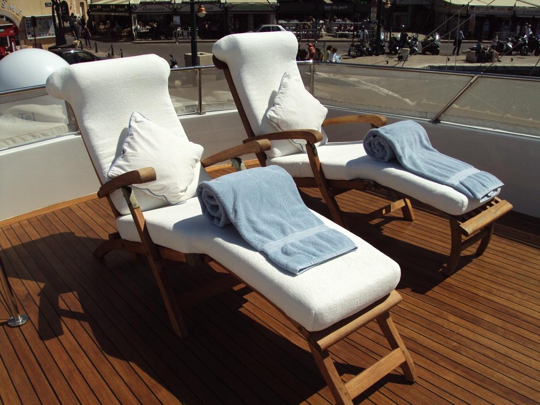 Chantella   Flybridge Sun Chairs