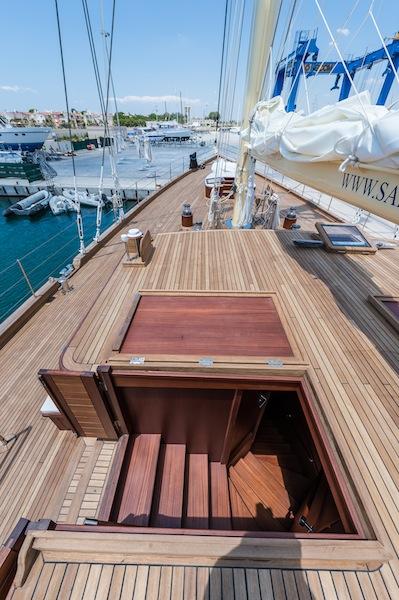 Charter yacht CHRONOS by ARK Yachts - deck