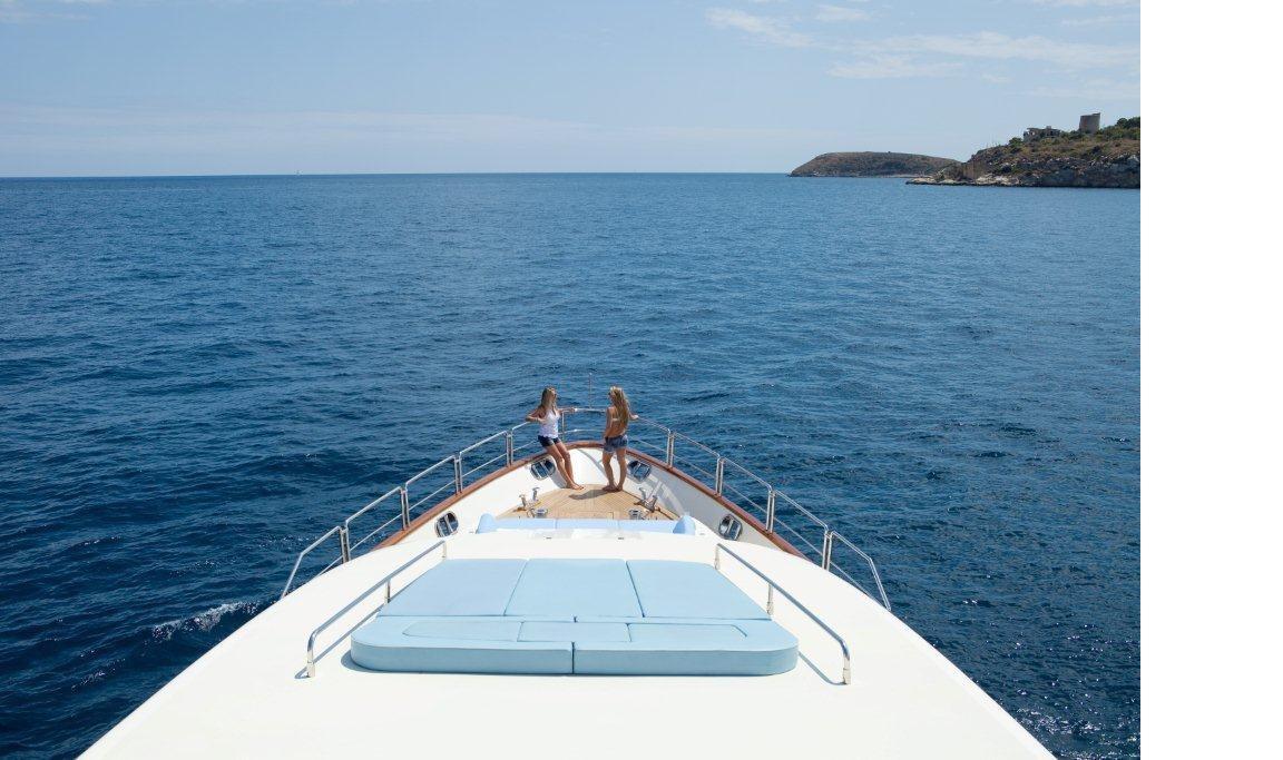 Charter yacht ITACA CLUB -   Bow