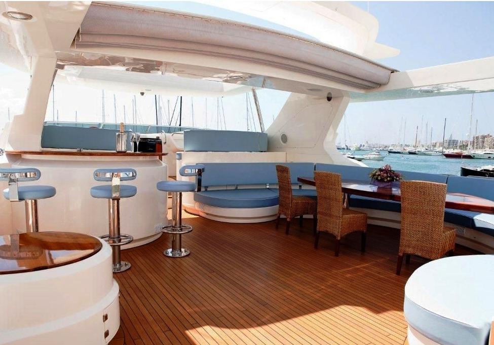 Charter yacht ITACA CLUB -  Flybridge 2