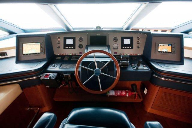 Charter yacht ITACA CLUB -  Helm