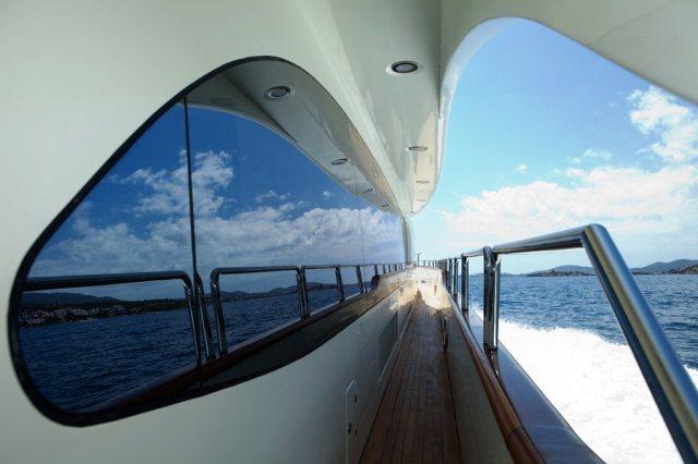 Charter yacht ITACA CLUB -  Side Deck