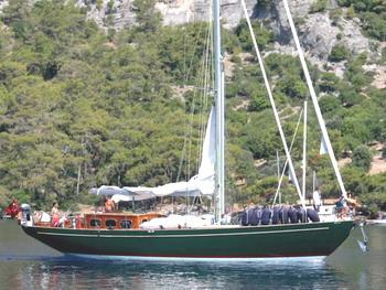 Classic Yacht ANITTA -  Profile