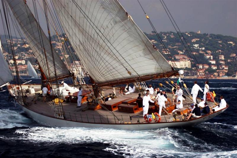 Classic Yacht Eleonora E - French Riviera