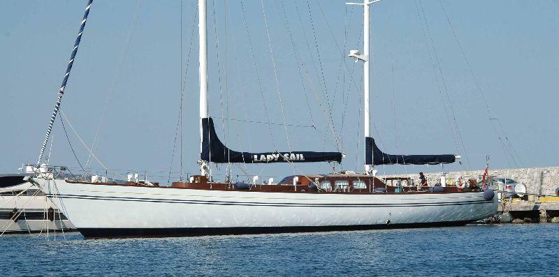 Classic Yacht Lady Sail -  Main