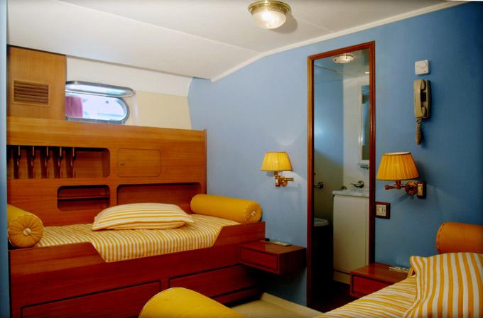 Classic Yacht NAFISA -  Twin Cabin