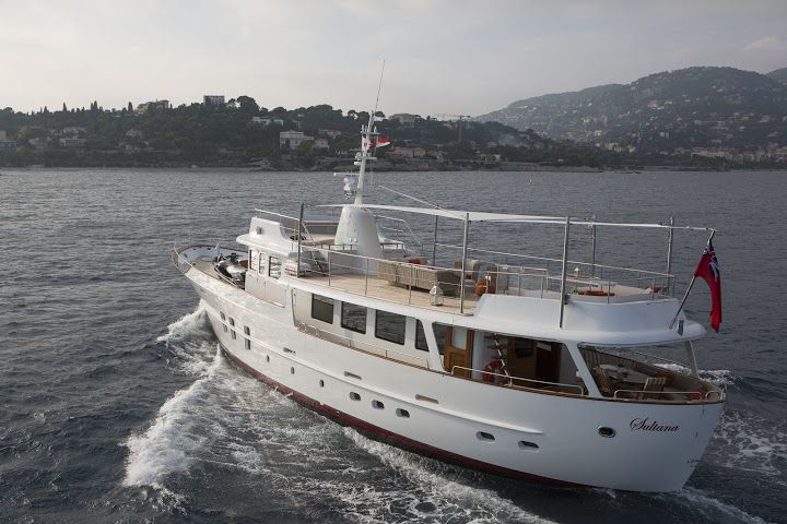 Classic Yacht SULTANA -  Aft View
